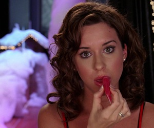 "Lacey Chabert in Mean Girls - The lip gloss was on point throughout this entire movie, but Gretchen Wieners just might win ""best glossed."""