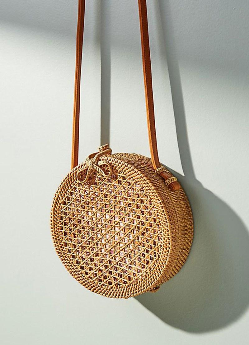 7. Straw bag -