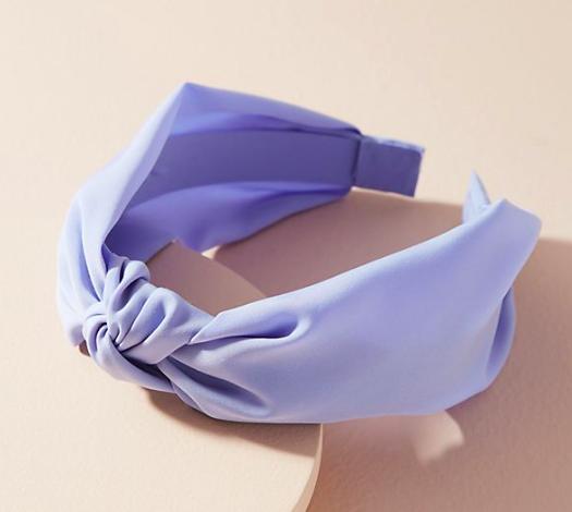 10. Chiffon headband -