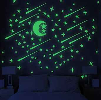 Glow in the dark stars - Cassie's daydreams take place in outer space, why not take your nights to the stars?
