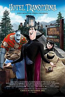 Hotel Transylvania - This one is ADORABLE and always cheers me up!