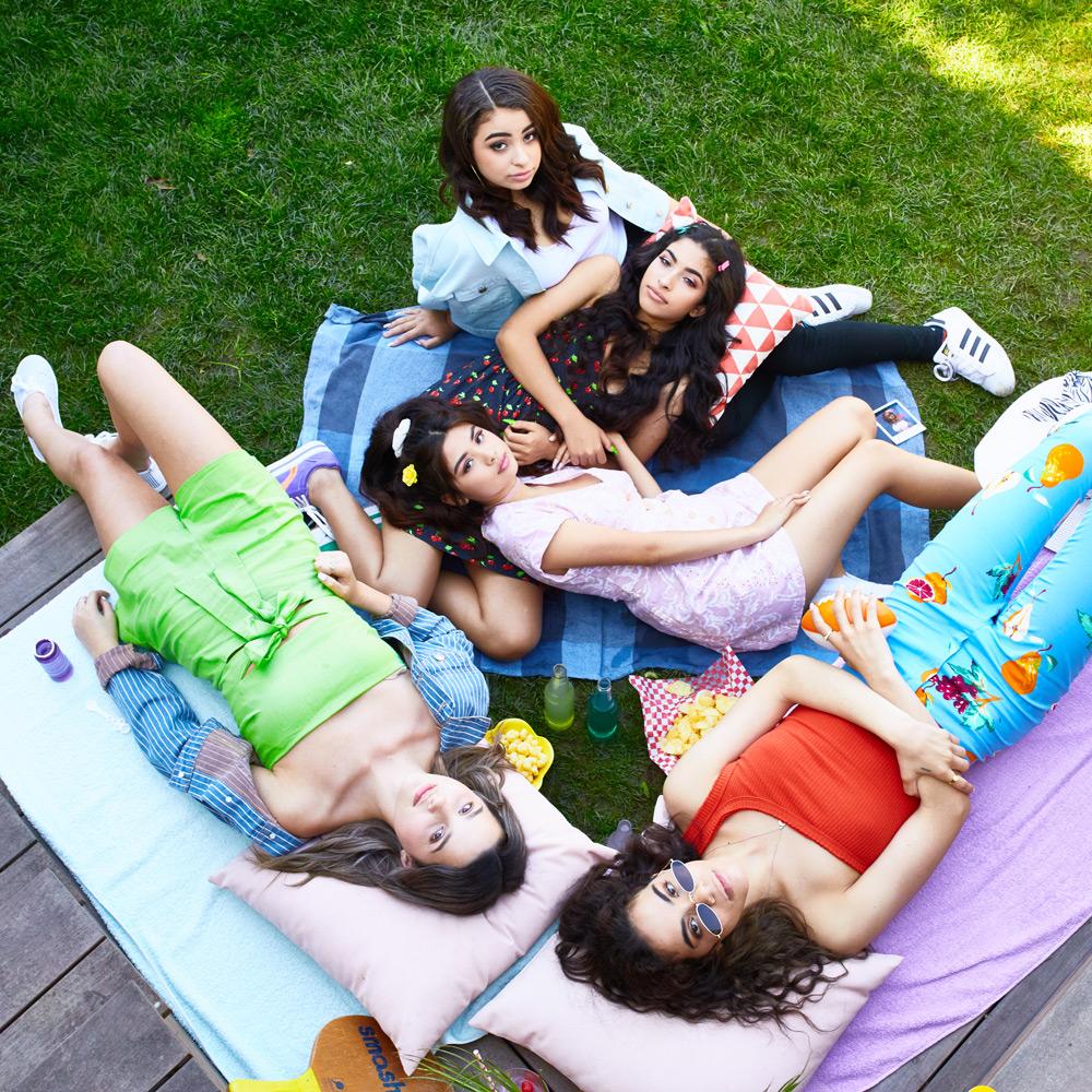 Annie LeBlanc, Natalie Bebko, Priscilla Barrera, Vereena Sayed, & Devenity Perkins