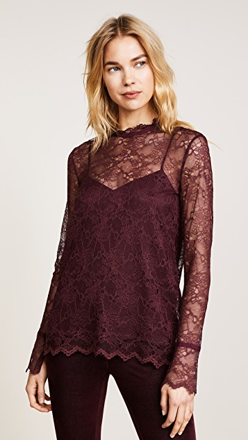 Lace top -