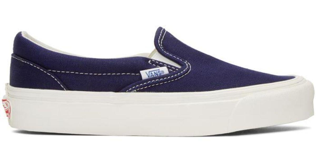 Navy blue Vans -