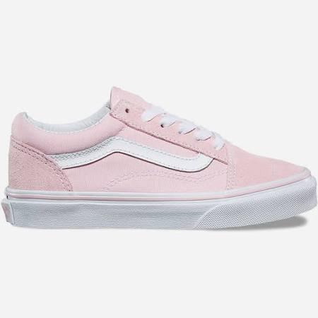 Pink suede vans -