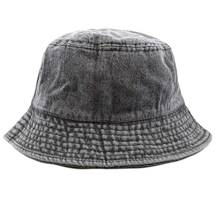 Denim bucket hat -