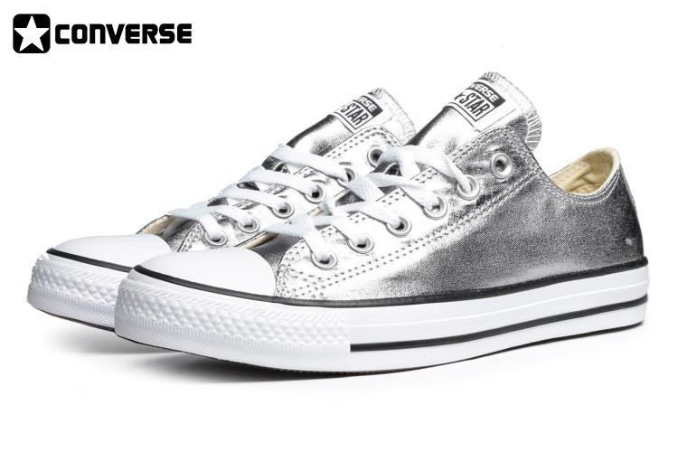 Silver Converse -