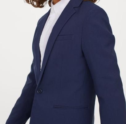 Blue blazer -