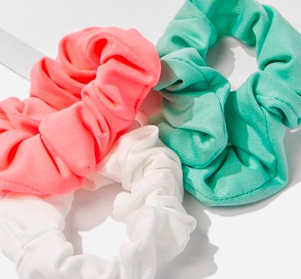 Bonus: scrunchies -