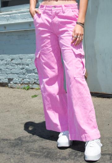 Corduroy cargo pants -