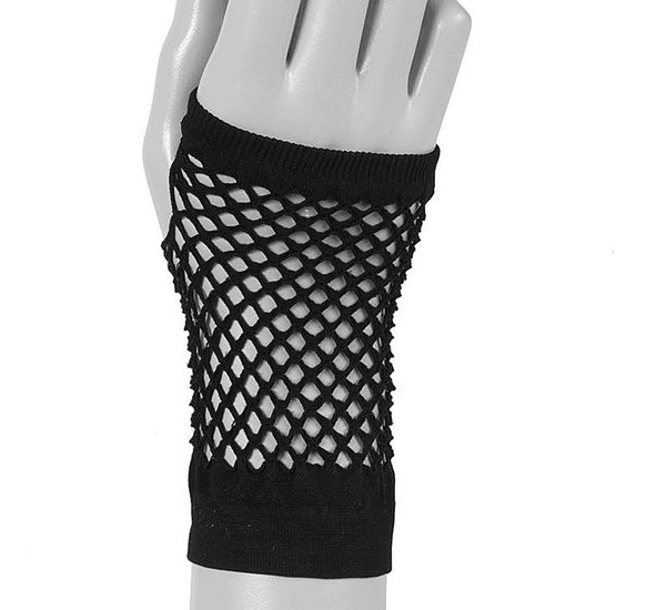 Fishnet gloves - Add an extra flourish of fishnet to let everyone know you're a princess of darkness and shouldn't be messed with.
