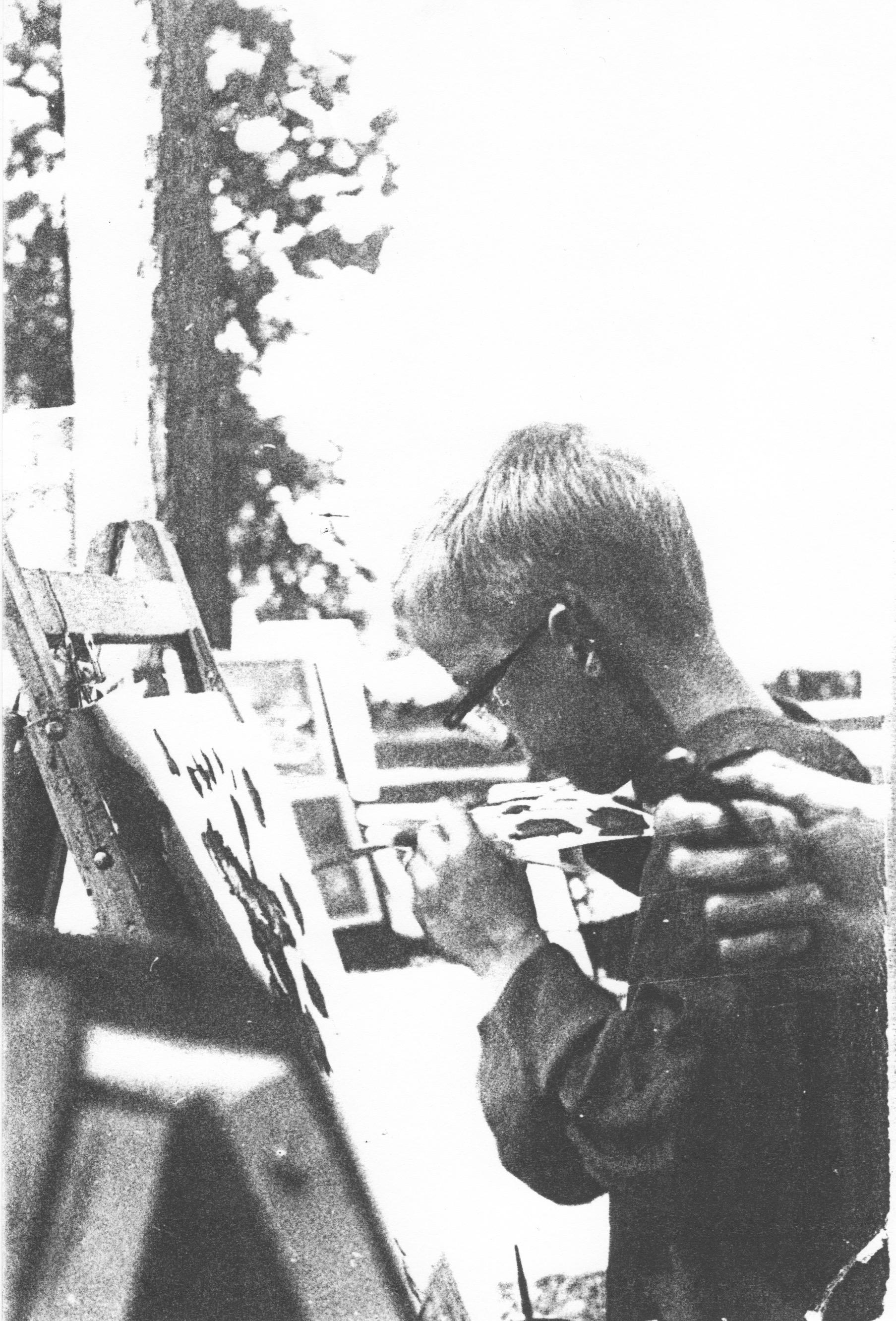 GA Photo Gene Painting as a boy.jpeg