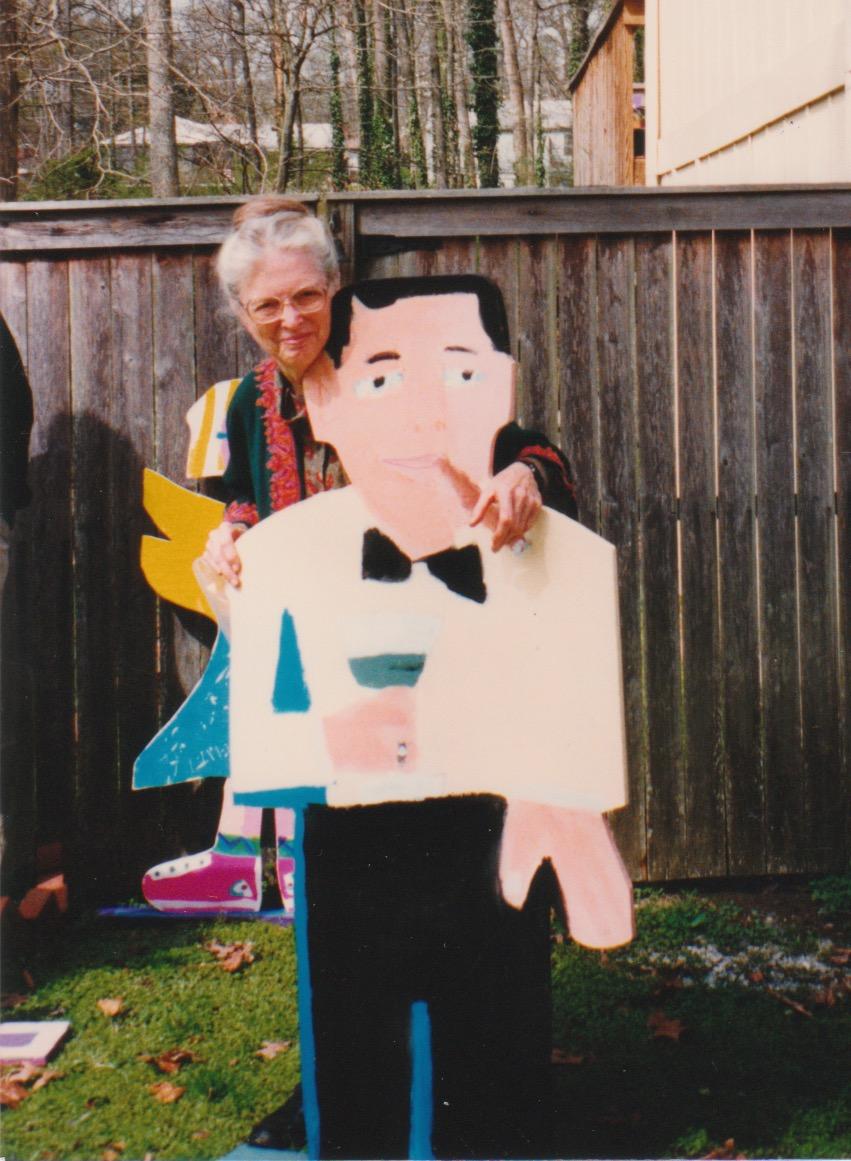 Humphrey Bogart + June, Gene's Mom