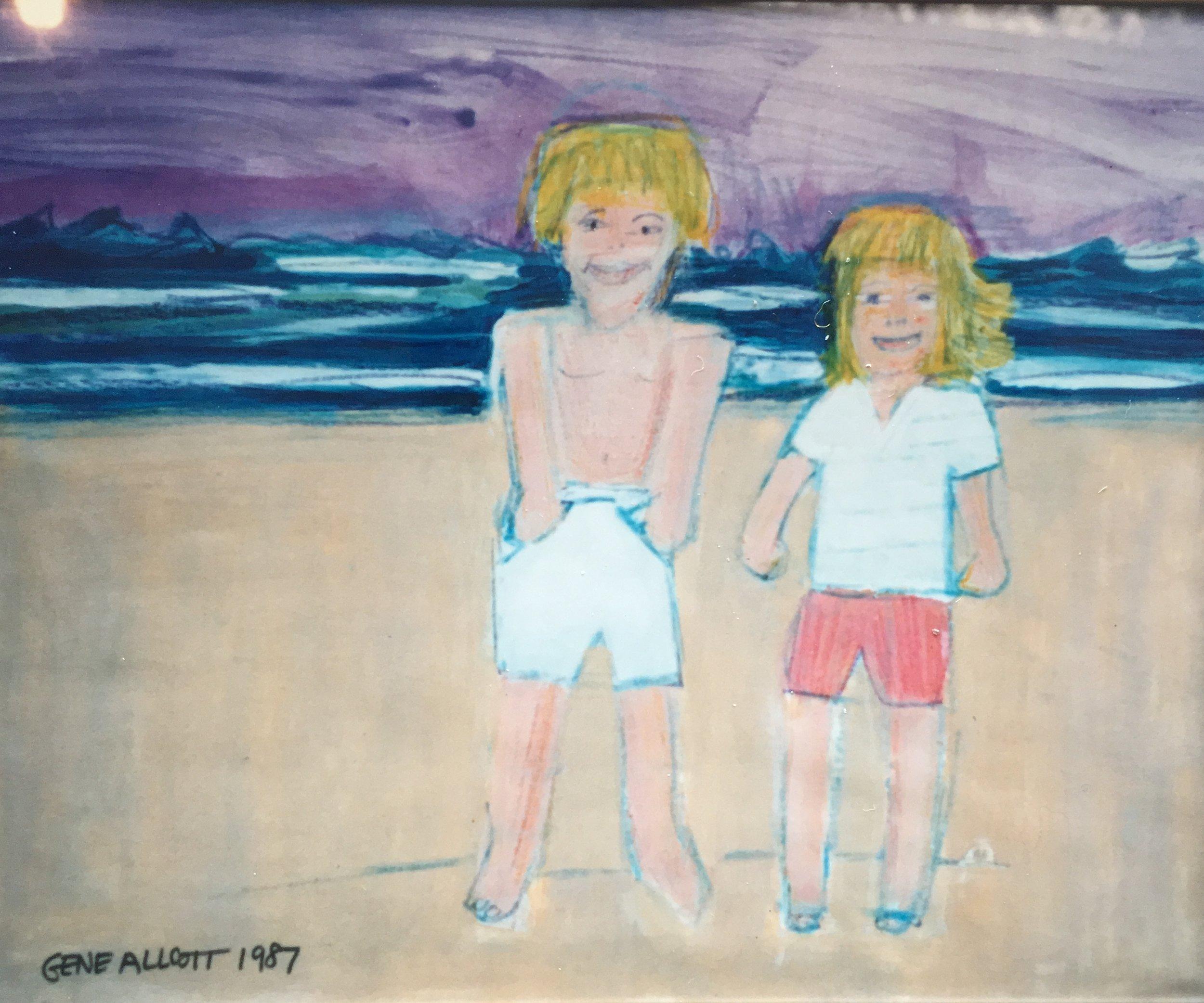 1 GA Art Benedict, Jackson and Elizabeth - painting IMG_4532.jpg