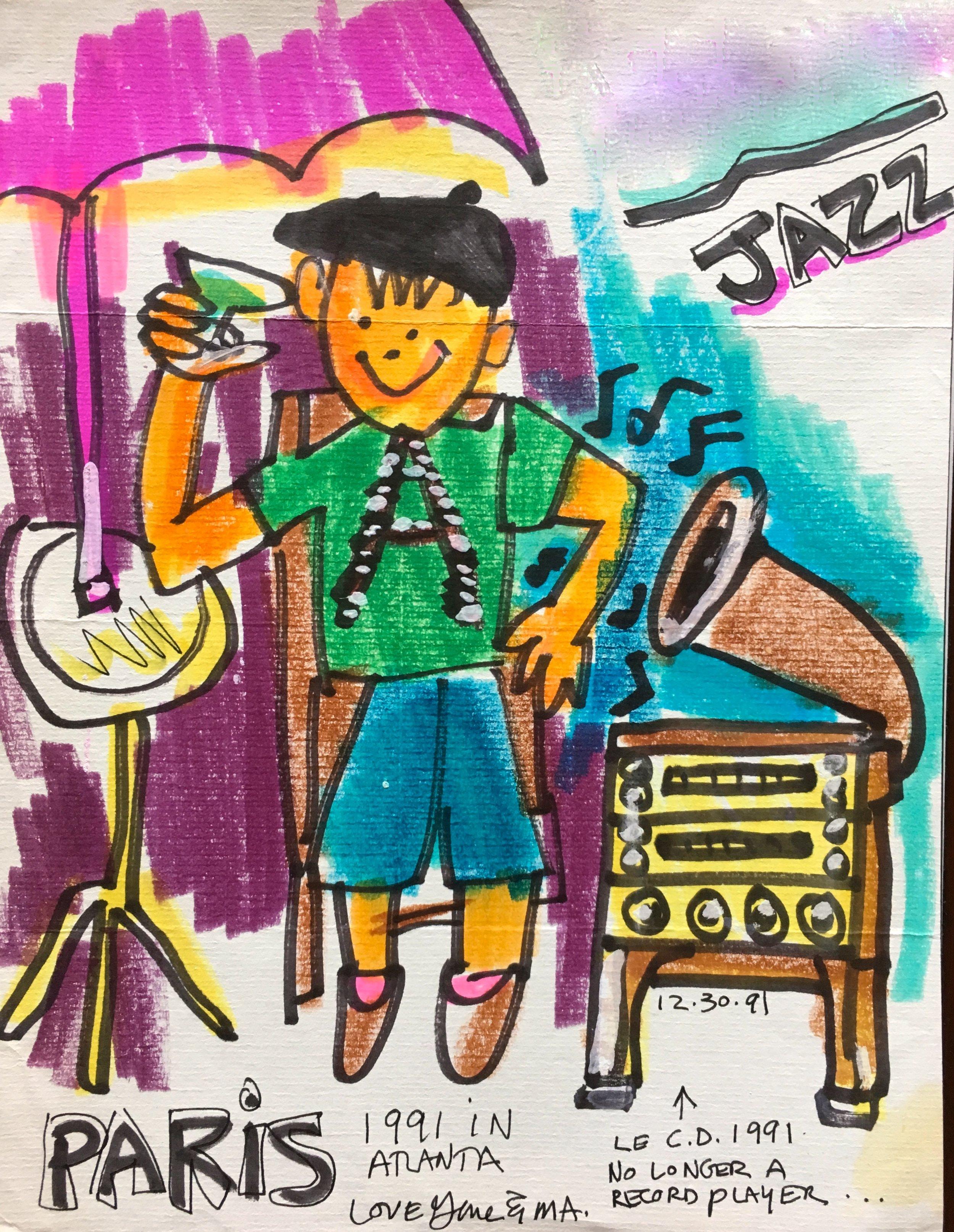 Paris Jazz, 1991