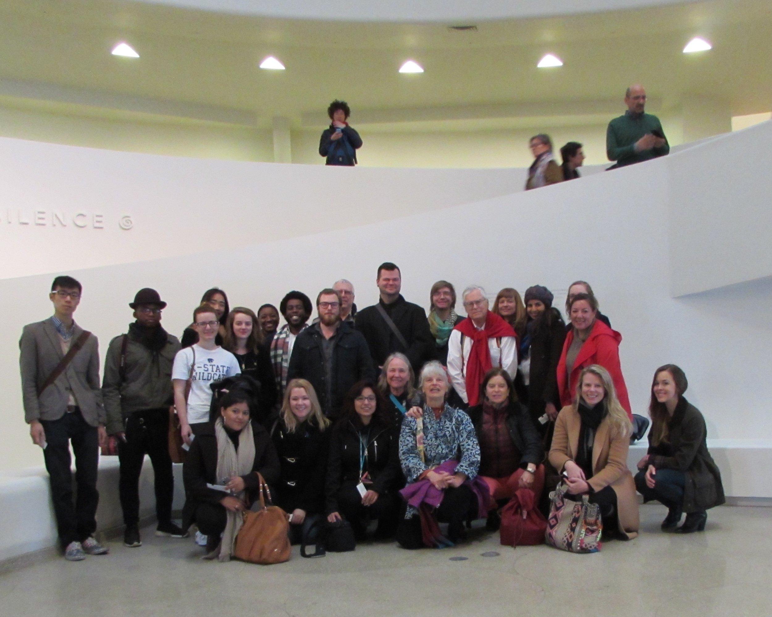 2015, the Guggenheim