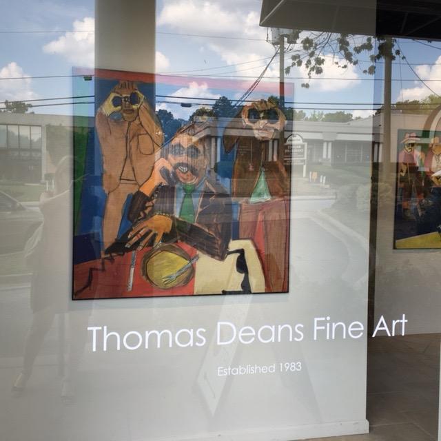 FOG Exhibit, Thomas Deans Gallery, Atlanta