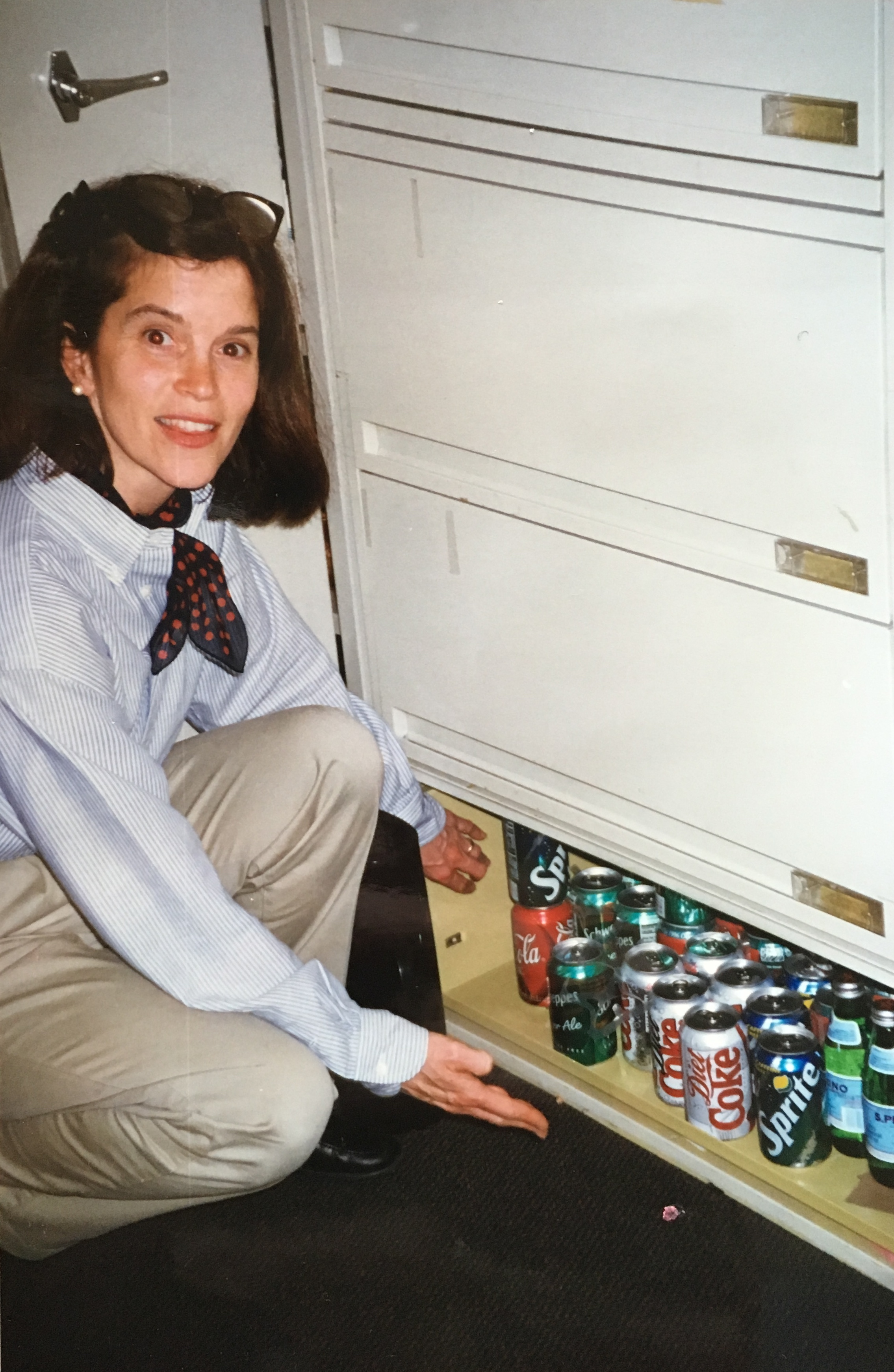 What? Me Donate? The famous drawer named after Gene Allcott! See story below.