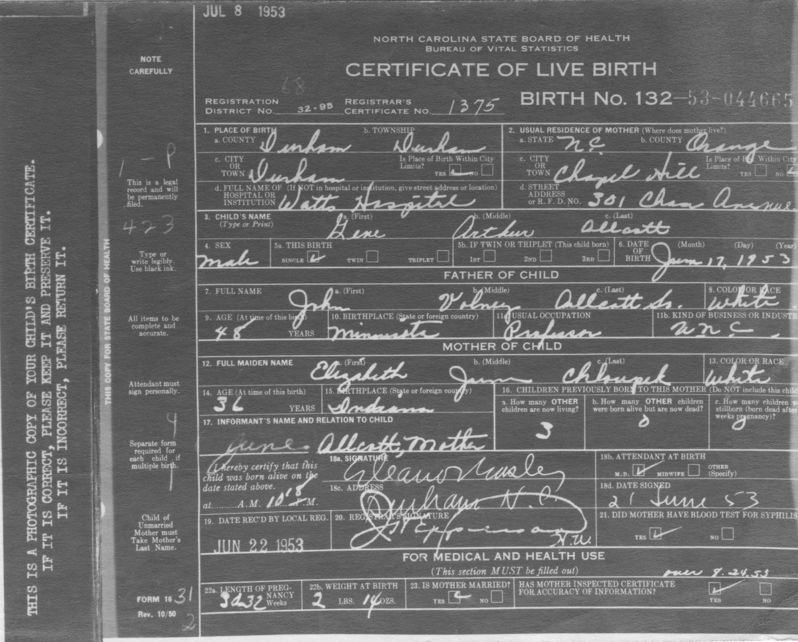 1 GA photo Gene's birth certificate 1953.jpeg