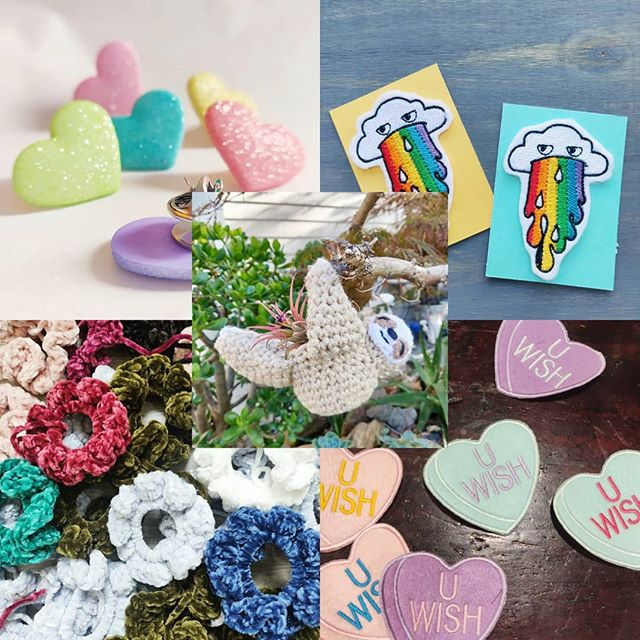 Updated the shop 🌈💖! We new have patches & some planters in deck 👌. All items are 15% off & orders $15+ get a free pin/patch 🤩. Don't miss out, link in bio!! - -  #amigurumi #crochet #makersmovement #makersgonnamake #lifestyle #fiberartist #etsy #etsyseller #color #rainbow #sloth #originaldesign #otaku #entrepreneur #crafts #yarn #knitwear #patch #pins #flair #behindthescenes #crochetersofinstagram #art #shoplocal #jacketflair #battlejacket #shopsmall #yarncircus