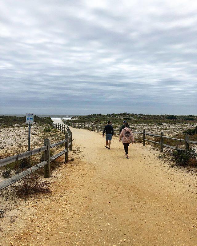 Today's beach stroll. Loving the east coast. #oceancity#eastcoast#beach#beachlife#travel#wanderlust#holidays#coast#getaway#adventure