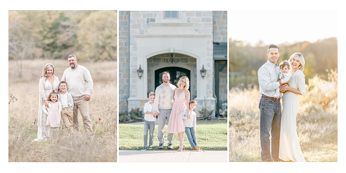 Flower Mound Fall Family Sessions