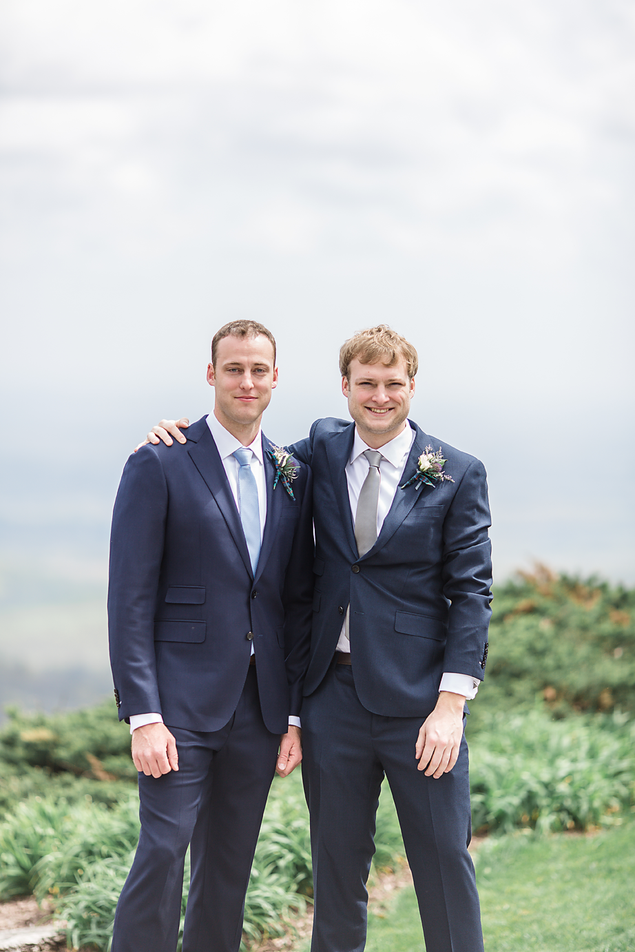 Dallas Wedding Photographer Glassy Mountain Chapel Greenville South Carolina scottish wedding groom and best man kate marie portraiture.png