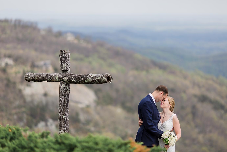 Dallas Wedding Photographer Glassy Mountain Chapel Greenville South Carolina scottish wedding bride and groom romantic cross kate marie portraiture.png