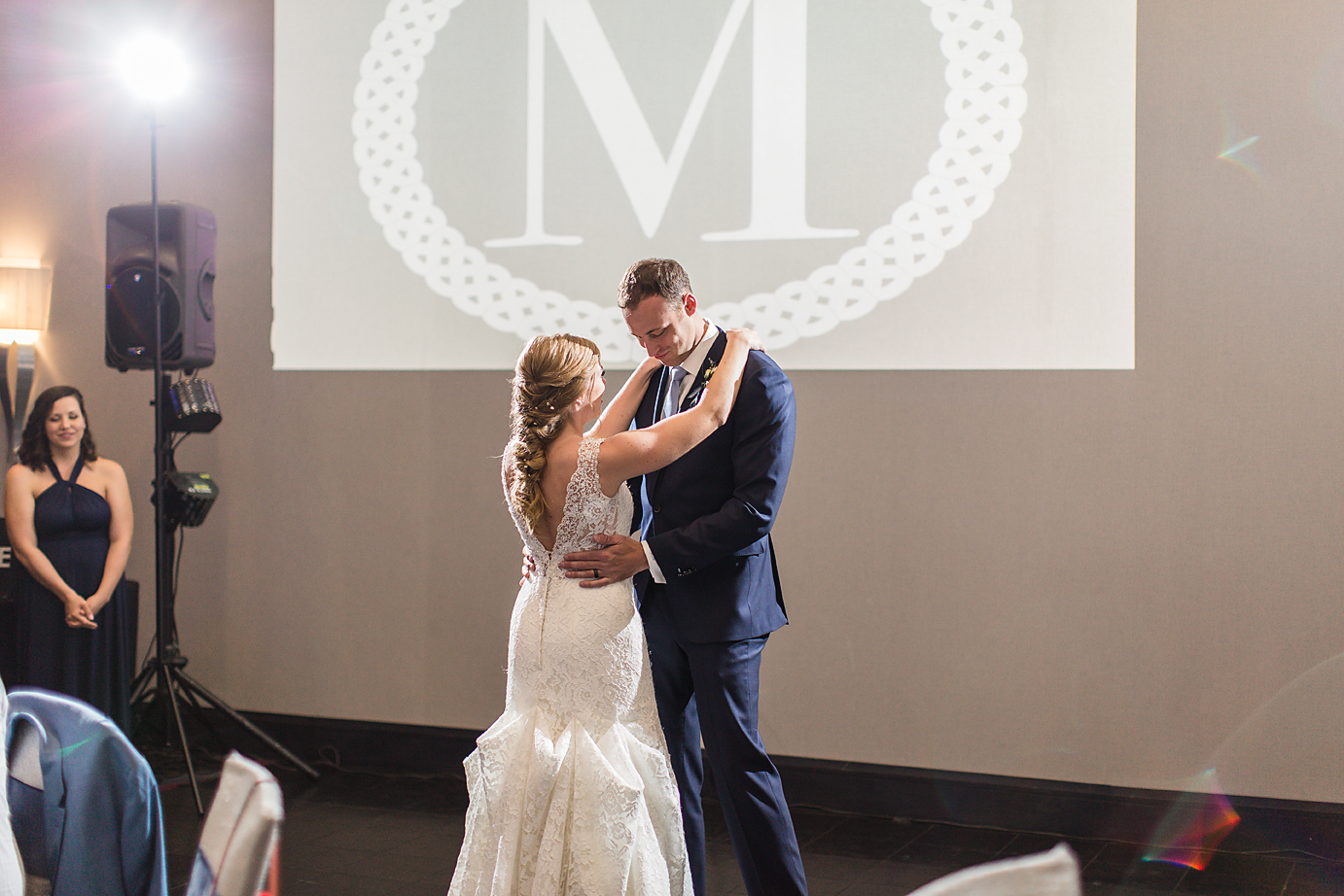 Dallas Wedding Photographer Greenville SC Embassy Suites Riverfront scottish wedding bride and groom first dance kate marie portraiture.png