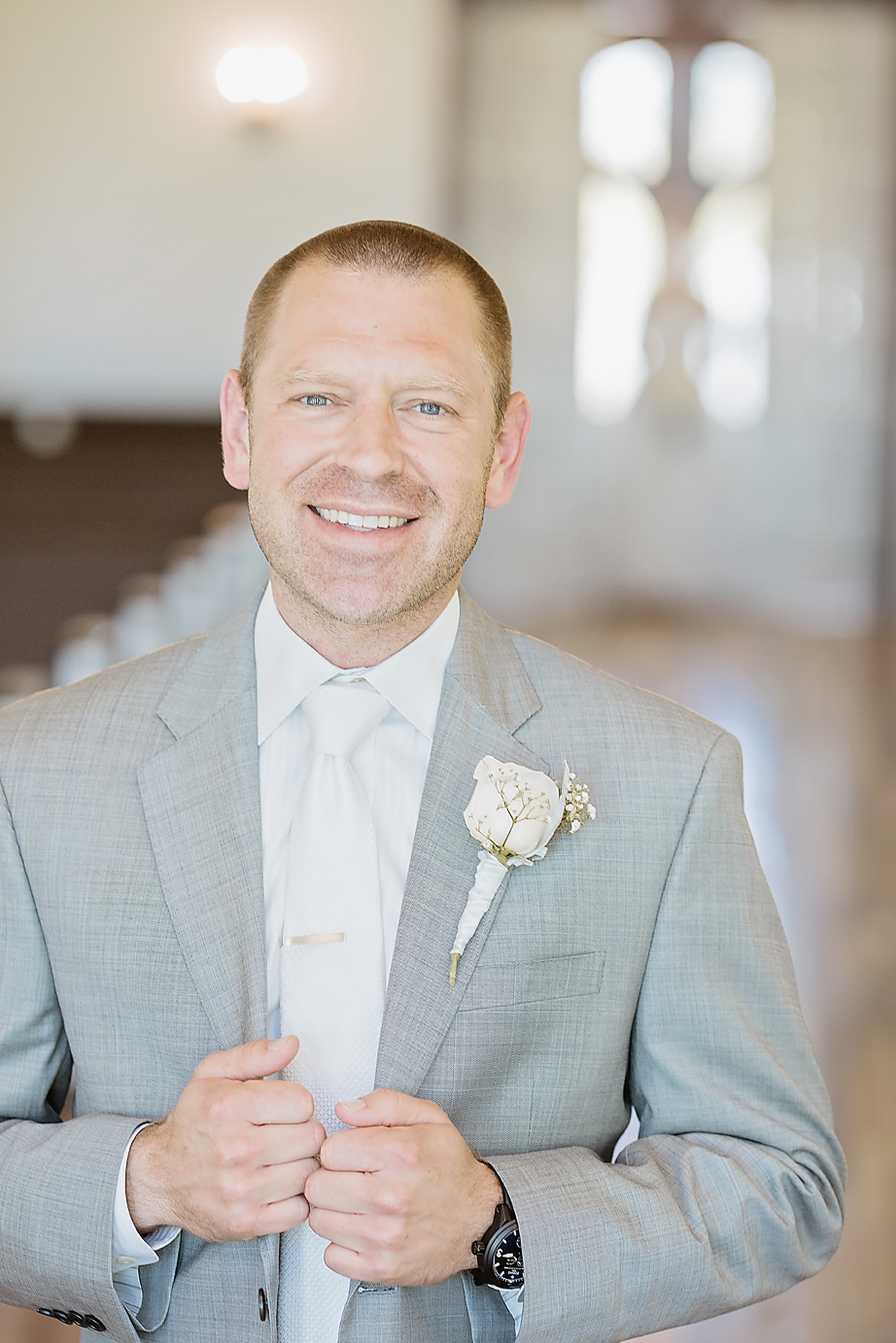 Dallas Wedding photographer Rustic Grace Estate groom first look Kate Marie Portraiture.png