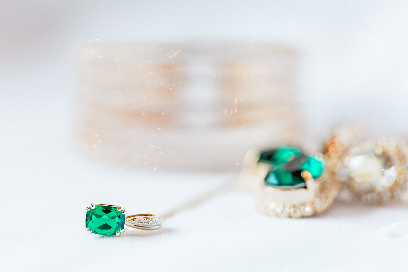 Dallas Wedding photographer Las Colinas Country Club wedding day details emerald jewelry Kate Marie Portraiture.png