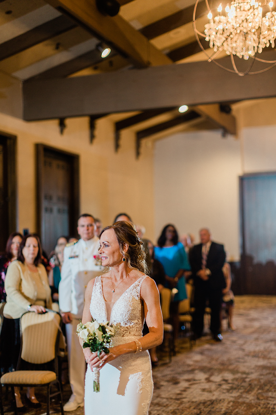 Dallas Wedding photography Las Colinas Country Club bride walking down aisle Kate Marie Portraiture.png