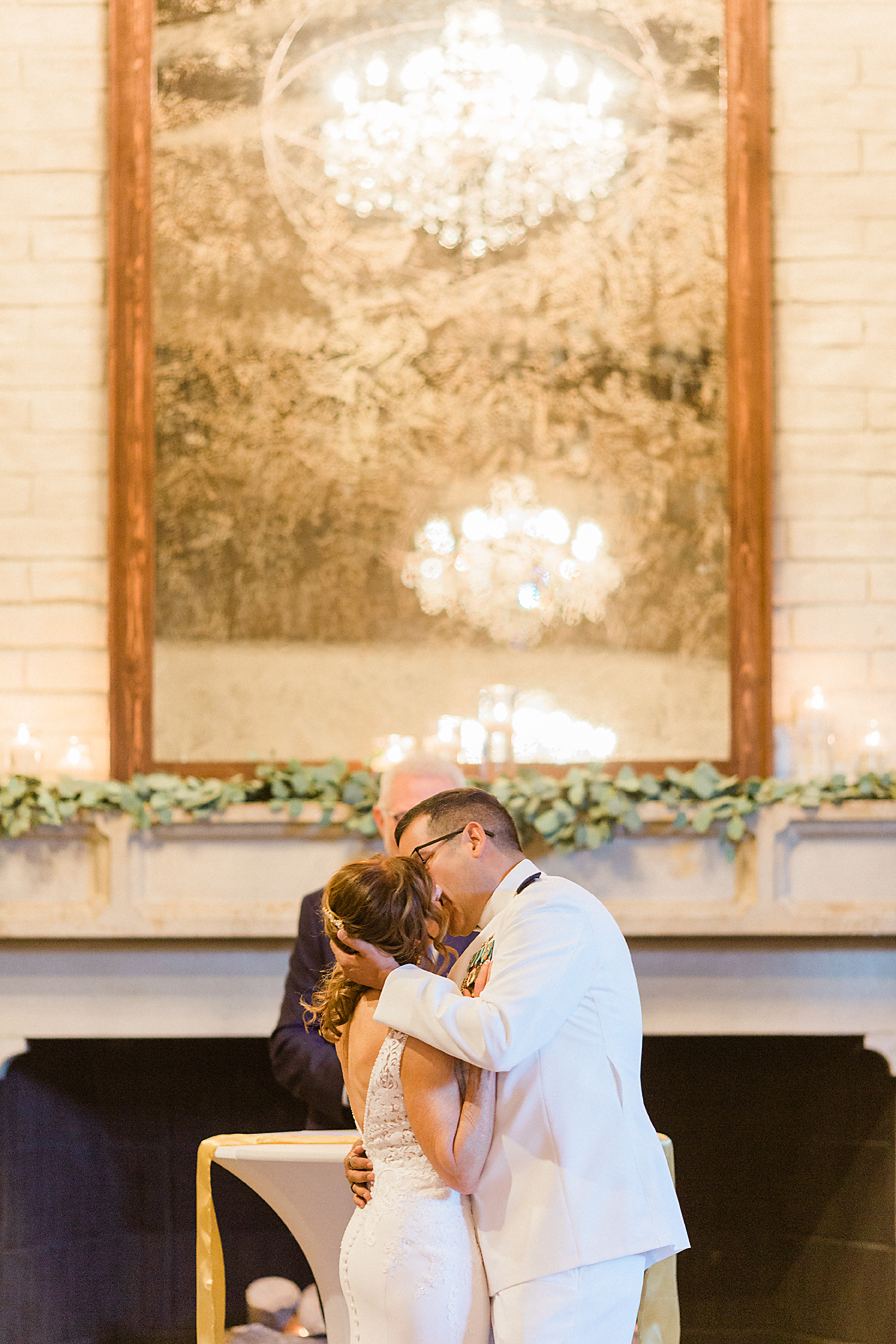 Dallas Wedding photography Las Colinas Country Club first kiss Kate Marie Portraiture.png