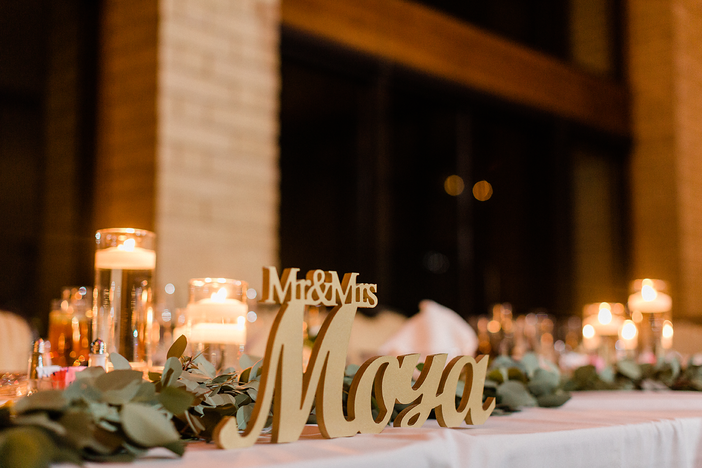 Dallas Wedding photography Las Colinas Country Club head table reception detail Kate Marie Portraiture.png