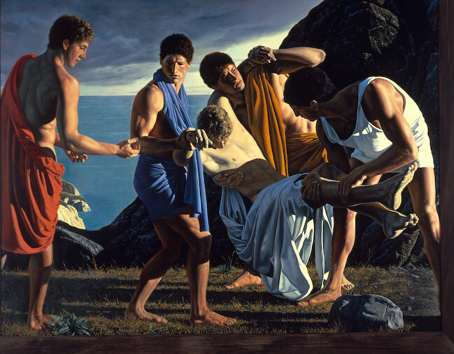 """""""Achilles and the Body of Patroclus,"""" 1986 
