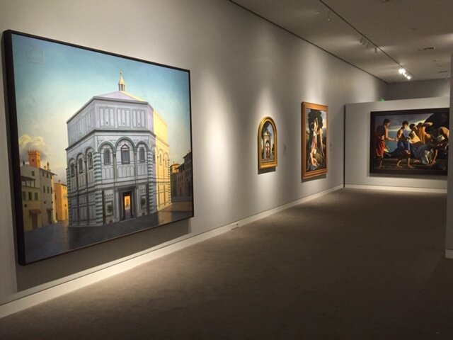 David Ligare retrospective, Crocker Art Museum, 2015