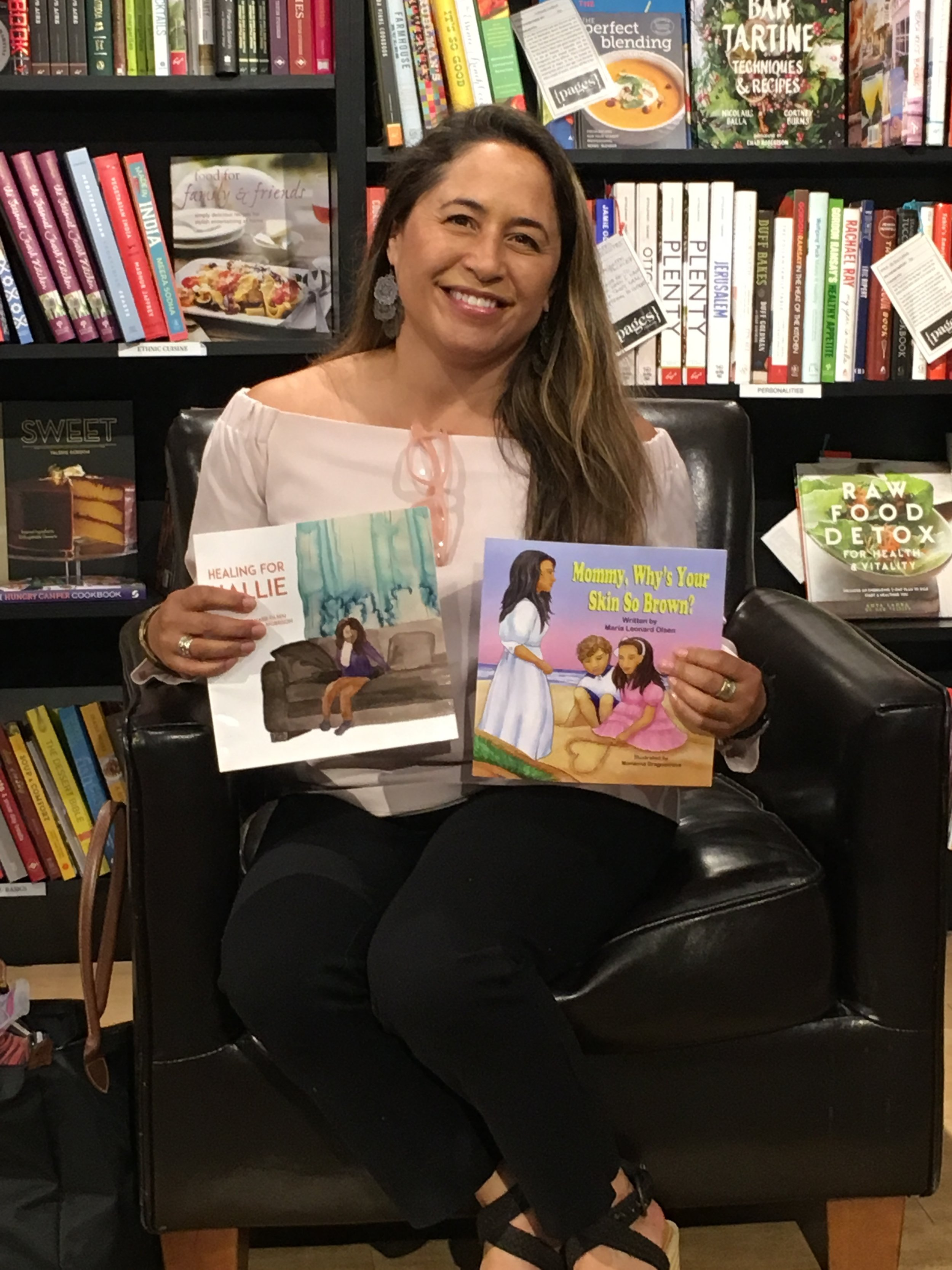 Childrens Books at Pages Event.JPG