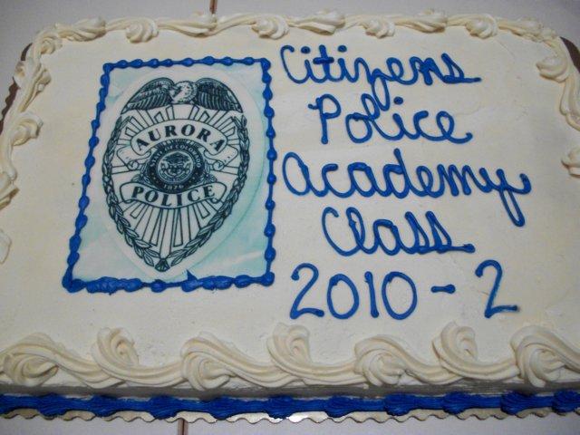 CPA Class 2010-02 Graduation Cake