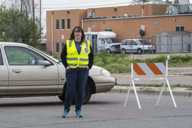 Colfax Marathon Traffic Control Volunteer