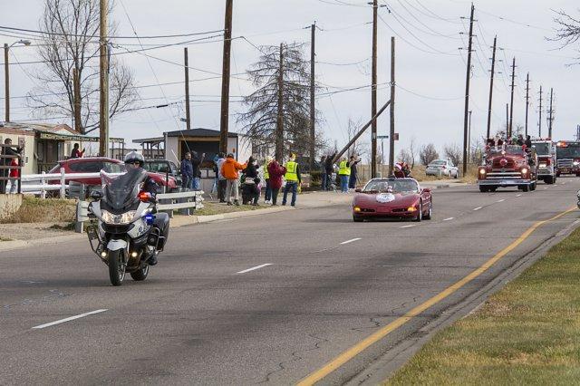Harley Toy Ride Traffic Control Volunteers