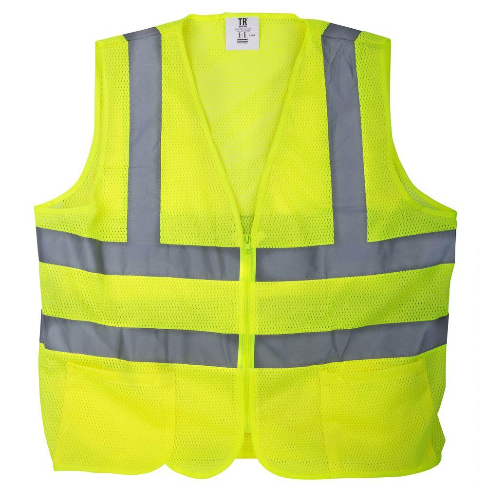Sample Yellow Safety Vest. Not the officially authorized vest.