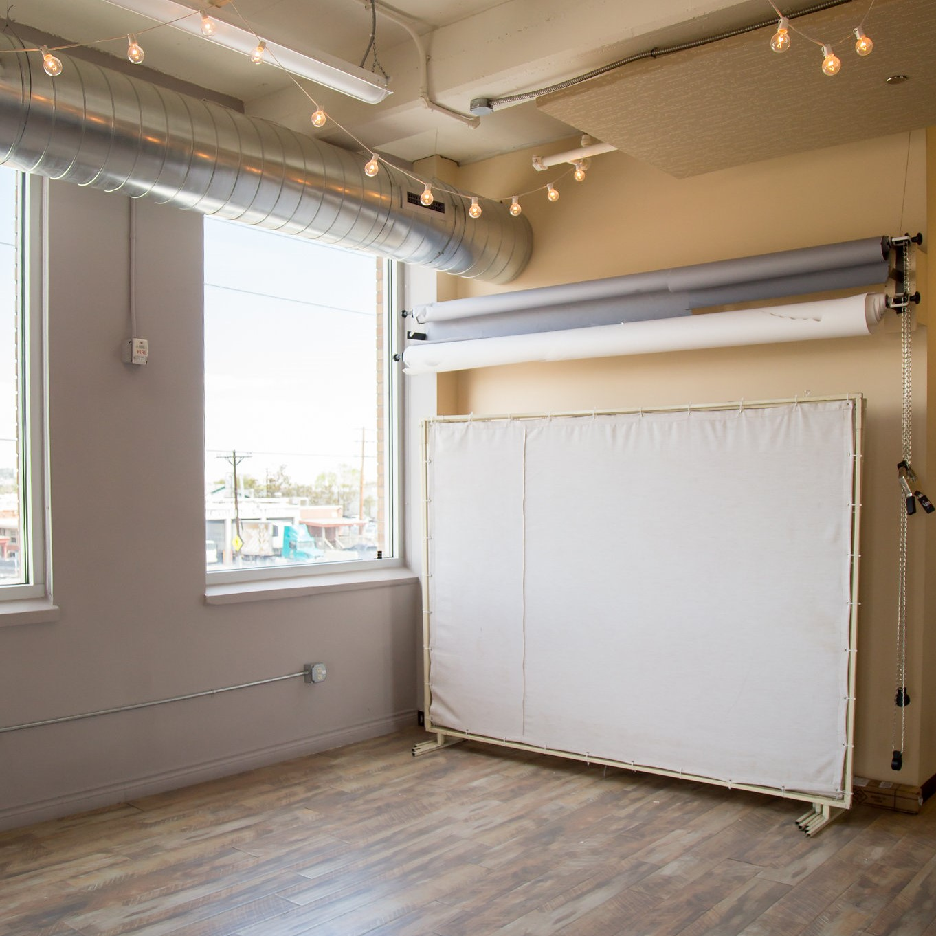 Say Hello to Our Globeville Denver Studio - With large windows surrounding our Globeville studio, natural light is never a problem! This space can accommodate any photo shoot or event or book time in our flex office space or consultation room to really wow your clients.