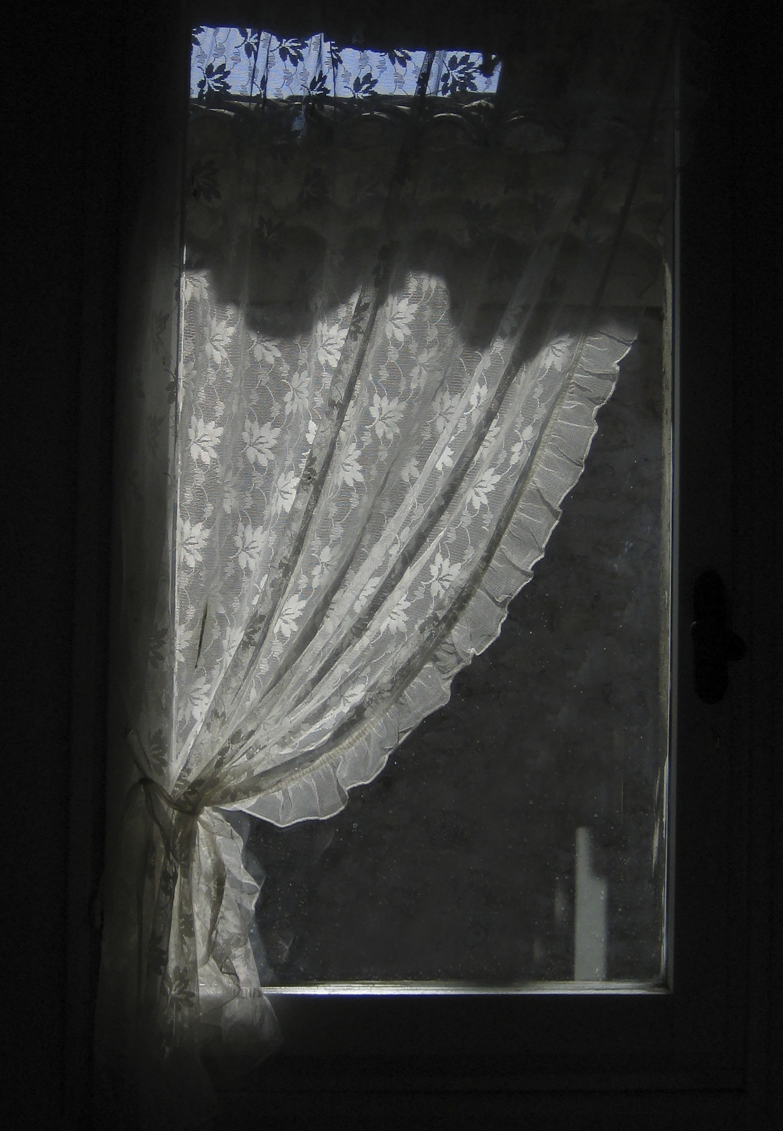 Lace curtain-Morning