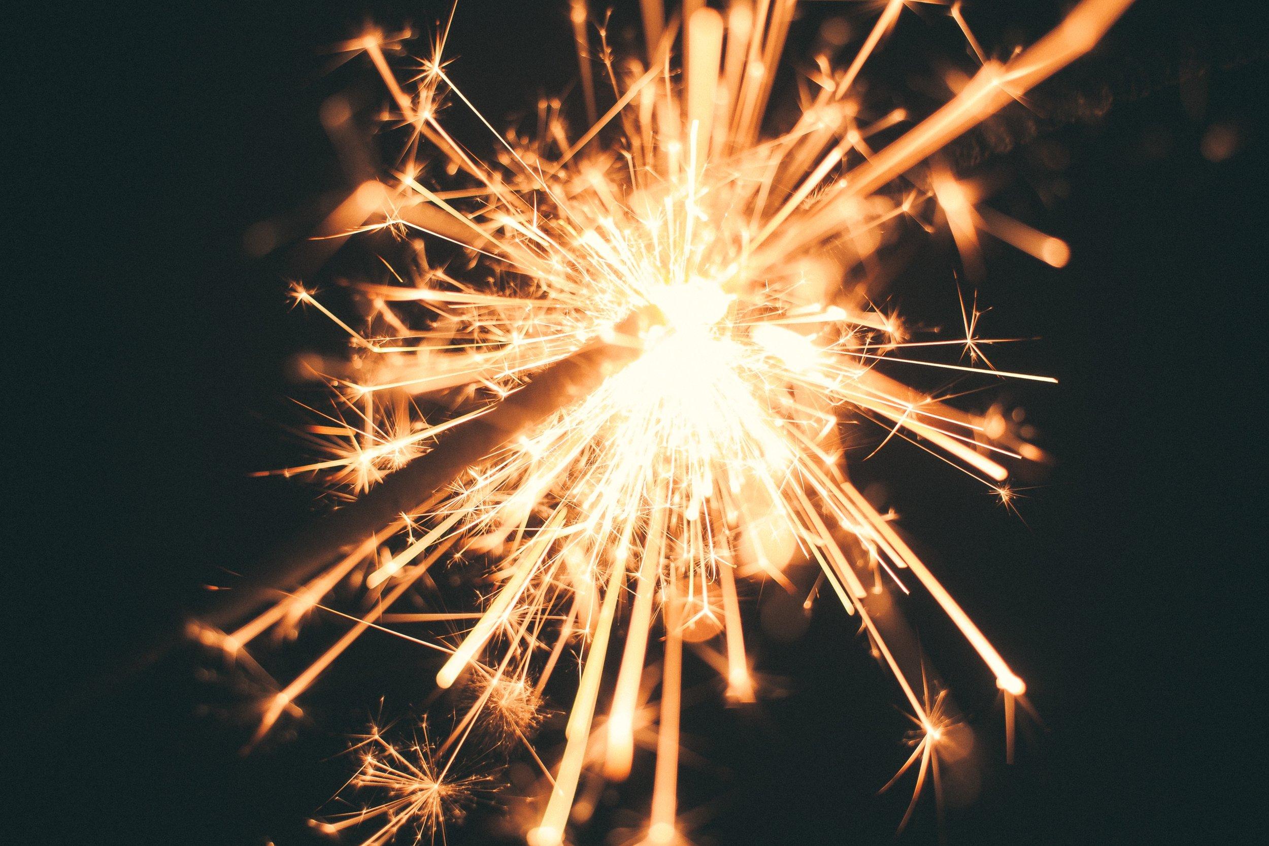 Fireworks, photo by Yasemin K on Unsplash