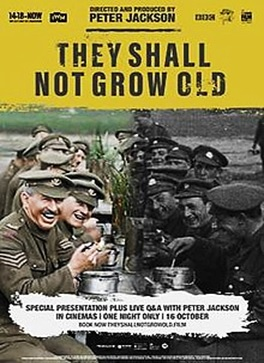 Image via  Wikipedia     'They Shall Not Grow Old  is compelling history for both historians and  non-historians .'   Says director Peter Jackson.
