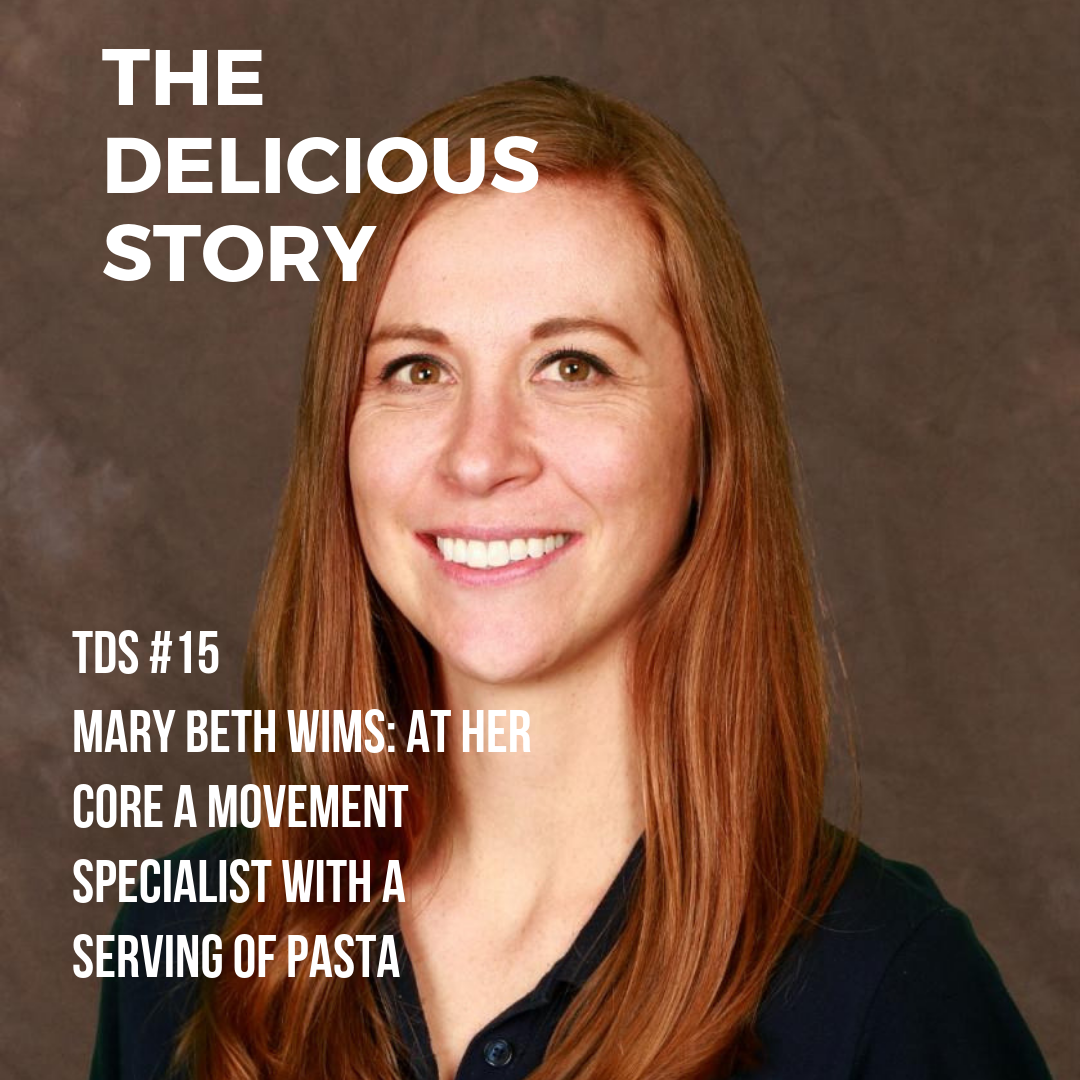 Mary Beth Wims a Physical Therapist, part of the team at  Core,  and a lover of pasta.