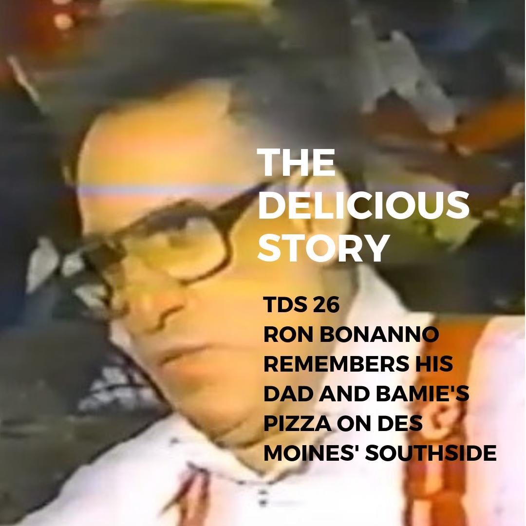 Frank Bonanno aka Bamie of Bamie's Pizza on Des Moines' Southside