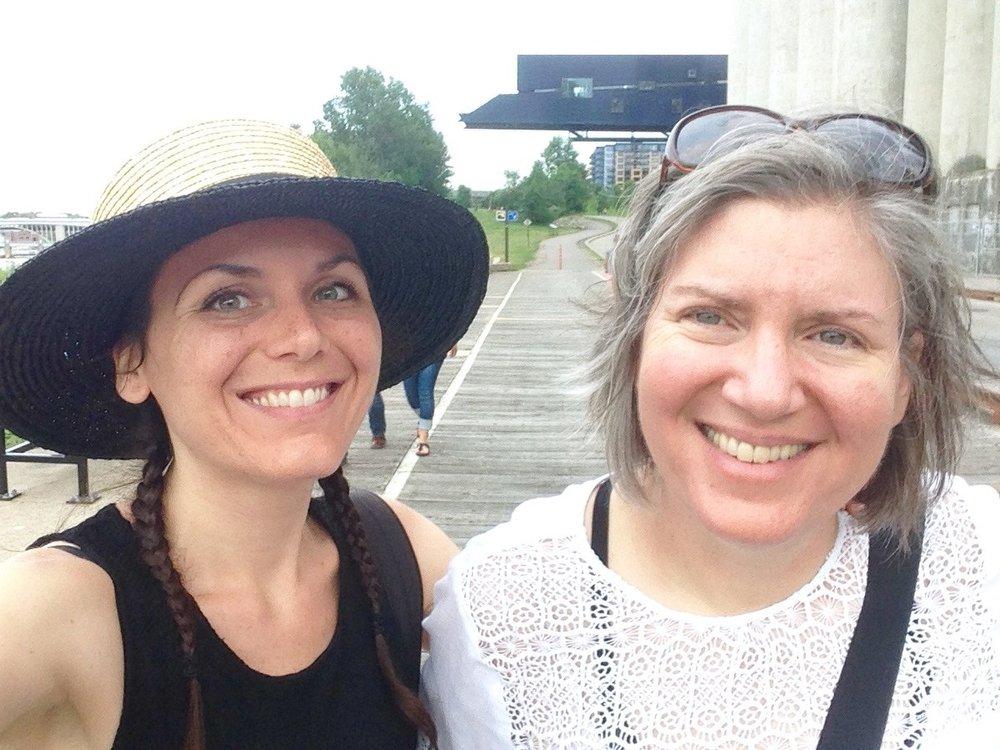 Alexandra and Sherry, 2016