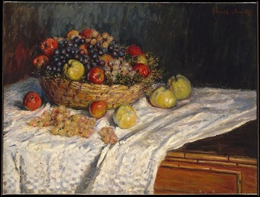 Monet's   Apples and Grapes