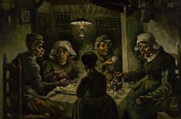 Van Gough's   The Potato Eaters